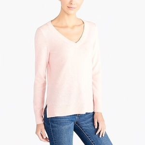 Jcrew v-neck cashmere sweater